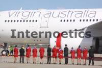 Virgin Australia Crew And Their New A330