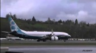 Boeing 737 MAX First Flight, 29th January 2016