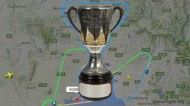 Virgin Australia draw an AFP Premiership Cup over Melbourne in an A330